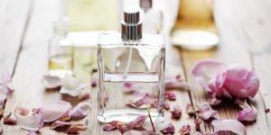 As intensidades de um perfume